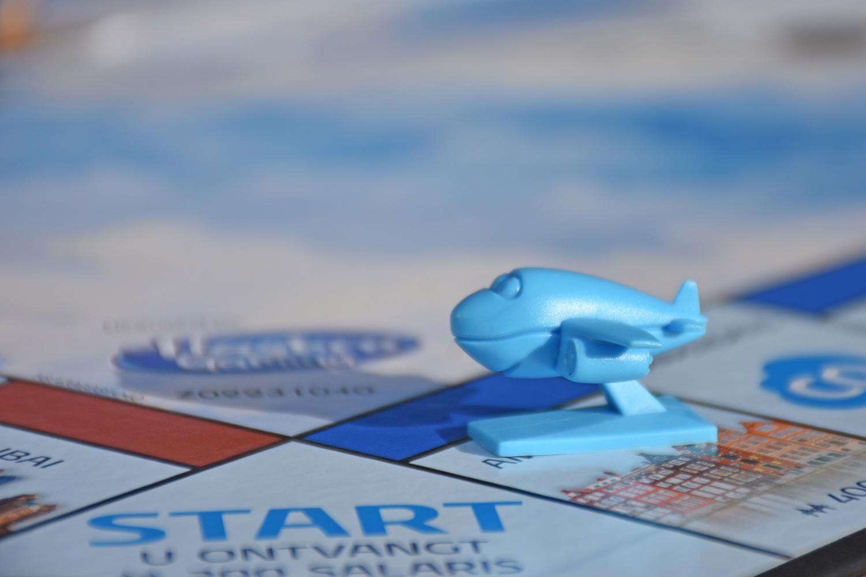 KLM introduceerde zijn eigen Monopoly-editie ter gelegenheid van het 100-jarig bestaan.