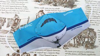 Het mondkapje van Martin Hajek doet het goed onder liefhebbers van KLM