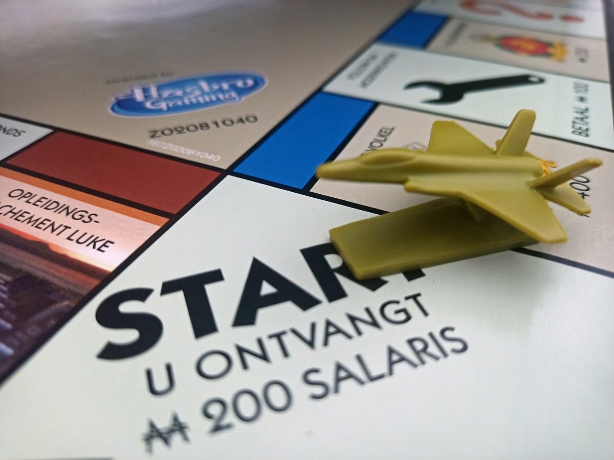 Vorig jaar verscheen een speciale Luchtmachteditie van Monopoly.