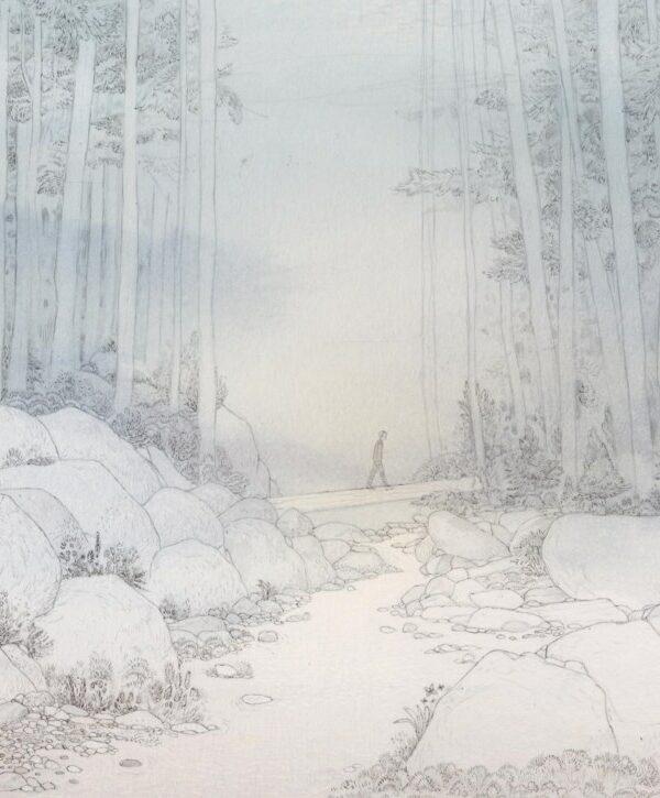 Illustratie uit 'Hele verhalen voor een halve soldaat'
